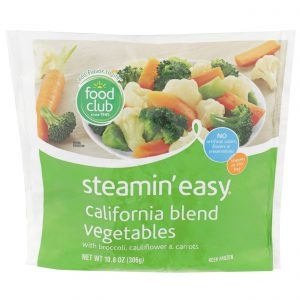 Steamin' Easy, California Blend Vegetables