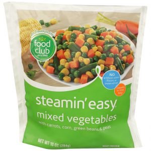 Steamin' Easy, Mixed Vegetables
