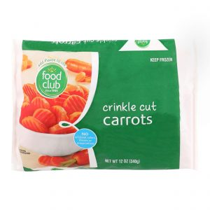 Carrots, Crinkle Cut