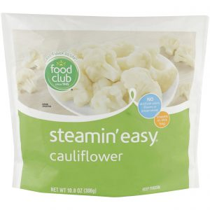 Steamin' Easy, Cauliflower