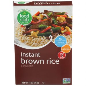 Instant Brown Rice, Long Grain