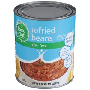 Refried Beans, Fat Free