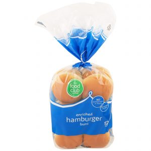 Hamburger Buns, Enriched