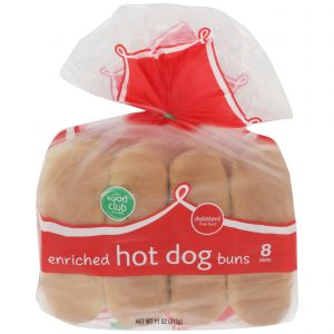 Hot Dog Buns, Enriched