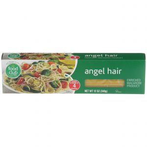 Angel Hair Pasta