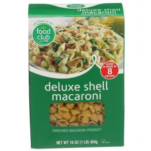 Deluxe Shell Macaroni Pasta