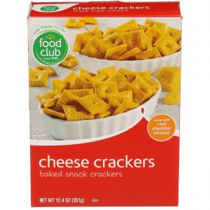 Cheese Crackers, Baked Snack Crackers