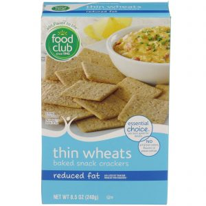 Thin Wheats Baked Snack Crackers - Reduced Fat