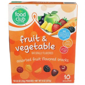 Fruit & Vegetable Fruit Snacks, Assorted