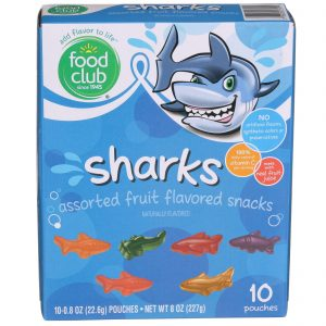 Fruit Snacks, Sharks