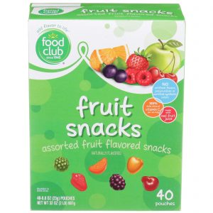 Fruit Snacks, Assorted
