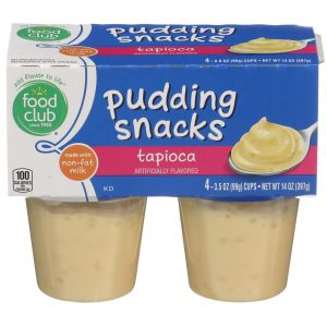 Tapioca Pudding Snacks