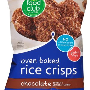 Oven Baked Rice Crisps, Chocolate