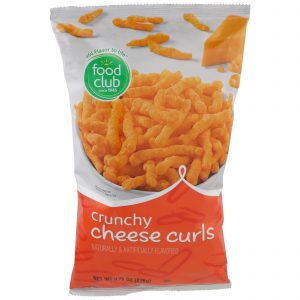 Cheese Curls, Crunchy