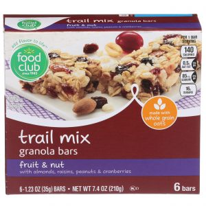 Fruit & Nut Trail Mix Granola Bars