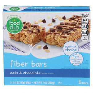Oats & Chocolate Fiber Bars