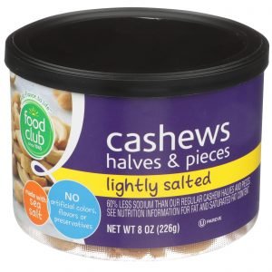 Cashews Halves & Pieces, Lightly Salted