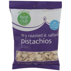 Dry Roasted & Salted Pistachios, In Shell