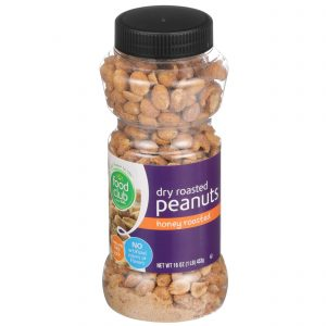 Dry Roasted Peanuts, Honey Roasted