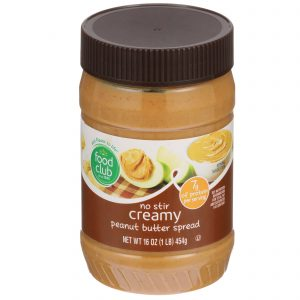 Creamy Peanut Butter Spread, No Stir