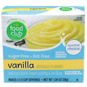 Vanilla Instant Pudding & Pie Filling - Reduced Calorie