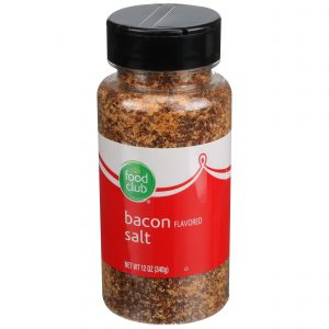 Bacon Flavored Salt