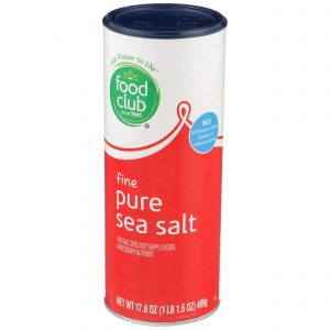 Fine Pure Sea Salt