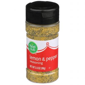 Lemon & Pepper Seasoning