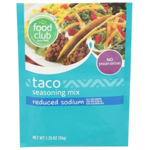 Taco Seasoning Mix, Reduced Sodium
