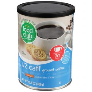 Ground Coffee - 1/2 Caff, Medium