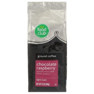 Ground Coffee - Chocolate Raspberry, 100% Arabica, Light Roast