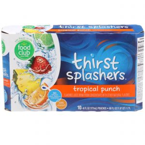Thirst Splashers, Tropical Punch