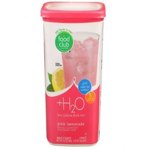 +H2O To Go!, Low Calorie Drink Mix, Pink Lemonade