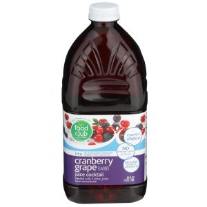Lite Cranberry Grape Flavored Juice Cocktail