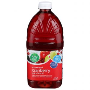 Unsweetened Cranberry Juice Blend
