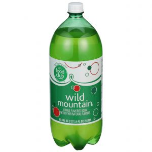 Wild Mountain, Citrus Flavored Soda