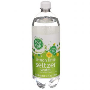 Lemon Lime Seltzer Water