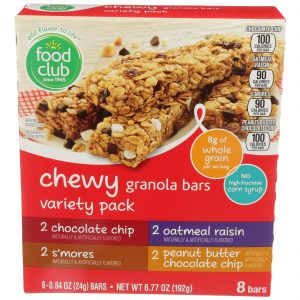 Chewy Granola Bars Variety Pack