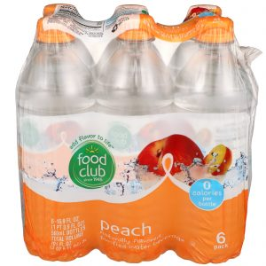 Peach Purified Water Beverage