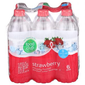 Strawberry Purified Water Beverage