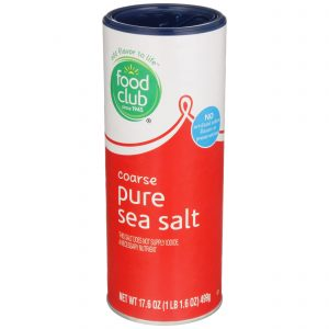 Coarse Pure Sea Salt