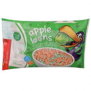 Apple Loons, Sweetened Multi-Grain Cereal