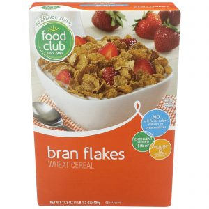 Bran Flakes Wheat Cereal