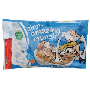 Cinn-Amazing Crunch, Sweetened Wheat & Rice Cereal
