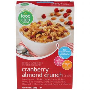 Cranberry Almond Crunch Cereal