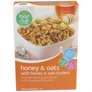 Honey & Oats With Honey & Oat Clusters Cereal