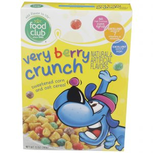 Very Berry Crunch Cereal
