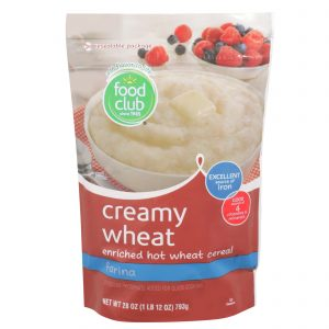 Creamy Wheat, Enriched Hot Wheat Cereal, Farina