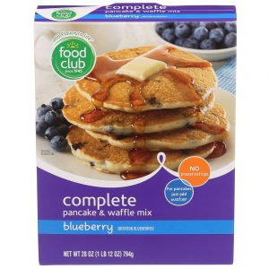 Complete Pancake & Wafffle Mix, Blueberry