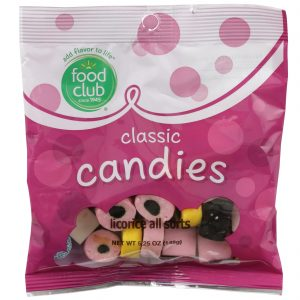 Licorice All Sorts Classic Candies